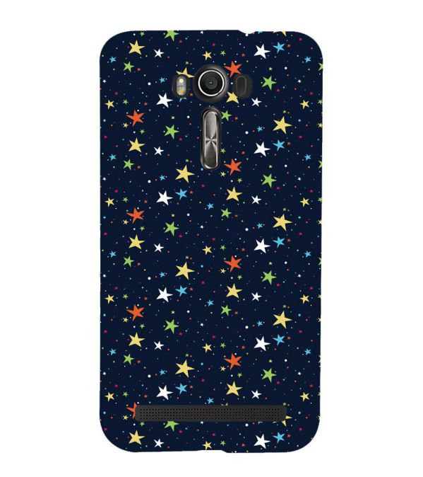 Colourful Stars Back Cover for Asus Zenfone 2 Laser ZE550KL