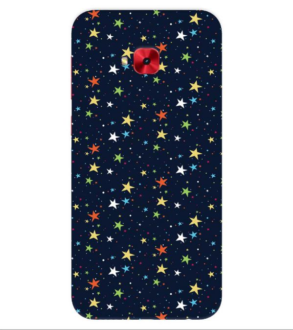 Colourful Stars Back Cover for Asus Zenfone 4 Selfie