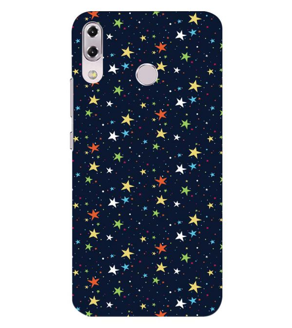 Colourful Stars Back Cover for Asus Zenfone 5z ZS620KL