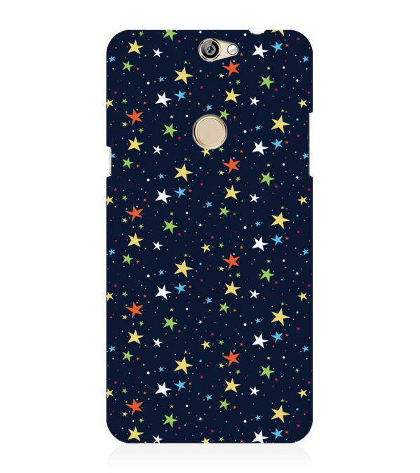 Colourful Stars Back Cover for Coolpad Max