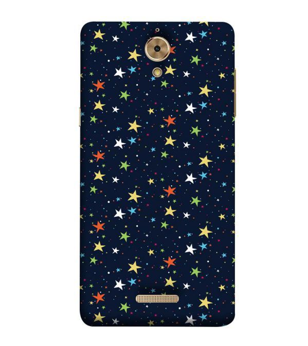 Colourful Stars Back Cover for Coolpad Mega 2.5D