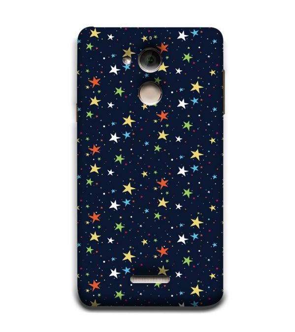 Colourful Stars Back Cover for Coolpad Note 5
