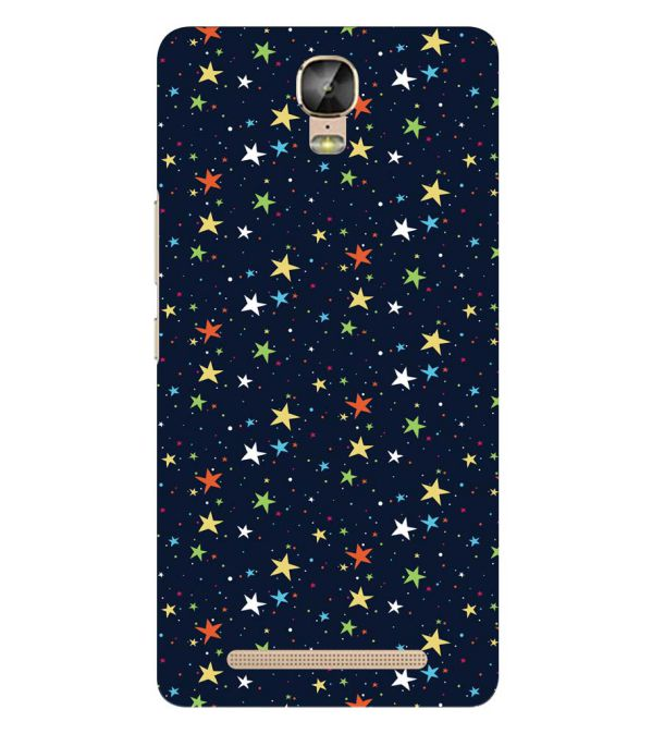 Colourful Stars Back Cover for Gionee Marathon M5 Plus