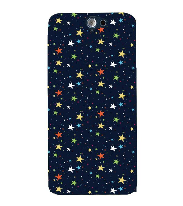 Colourful Stars Back Cover for HTC One A9