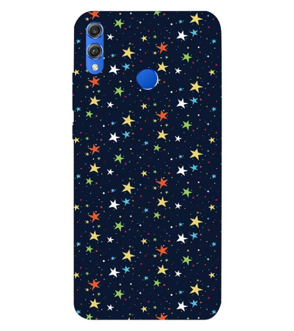 Colourful Stars Back Cover for Huawei Honor 8X