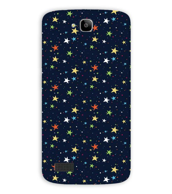 Colourful Stars Back Cover for Huawei Honor Holly