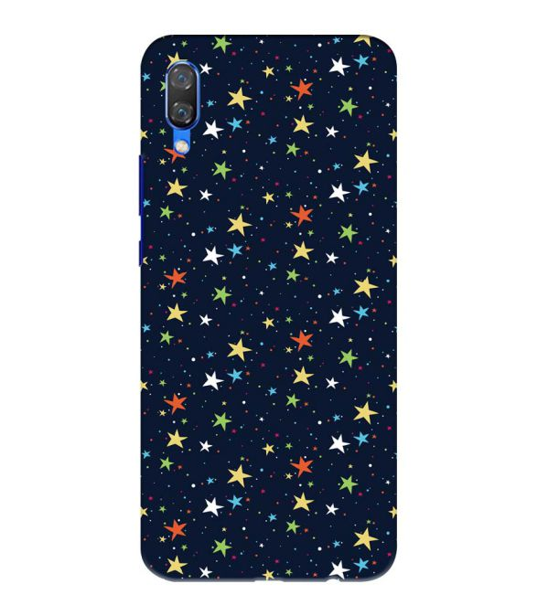 Colourful Stars Back Cover for Huawei Nova 3