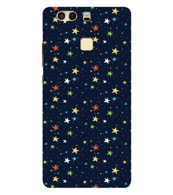 Colourful Stars Back Cover for Huawei P9