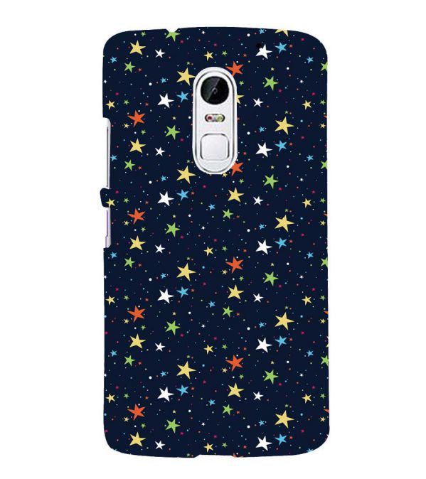 Colourful Stars Back Cover for Lenovo Vibe X3