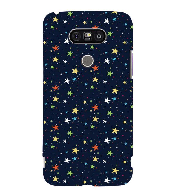 Colourful Stars Back Cover for LG G5