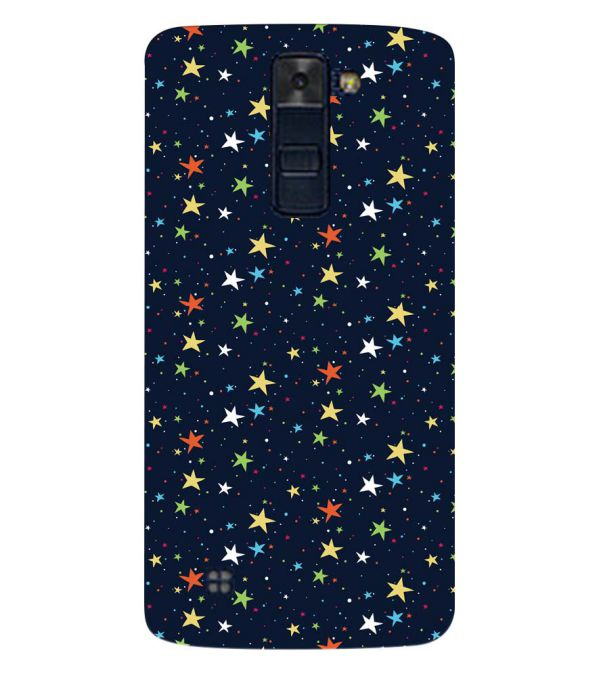 Colourful Stars Back Cover for LG K8