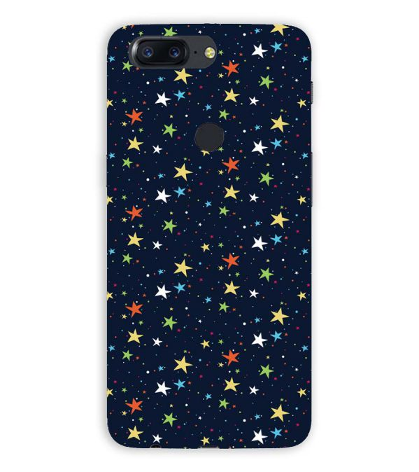 Colourful Stars Back Cover for OnePlus 5T