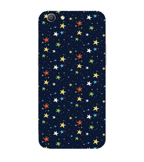 Colourful Stars Back Cover for Oppo A57 : A39