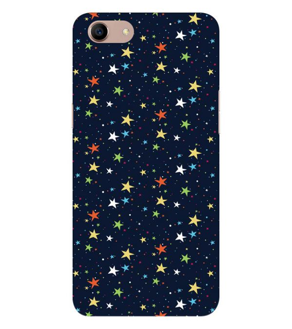 Colourful Stars Back Cover for Oppo A83