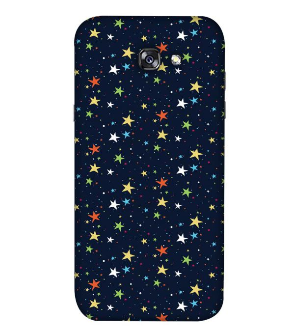 Colourful Stars Back Cover for Samsung Galaxy A5 (2017)