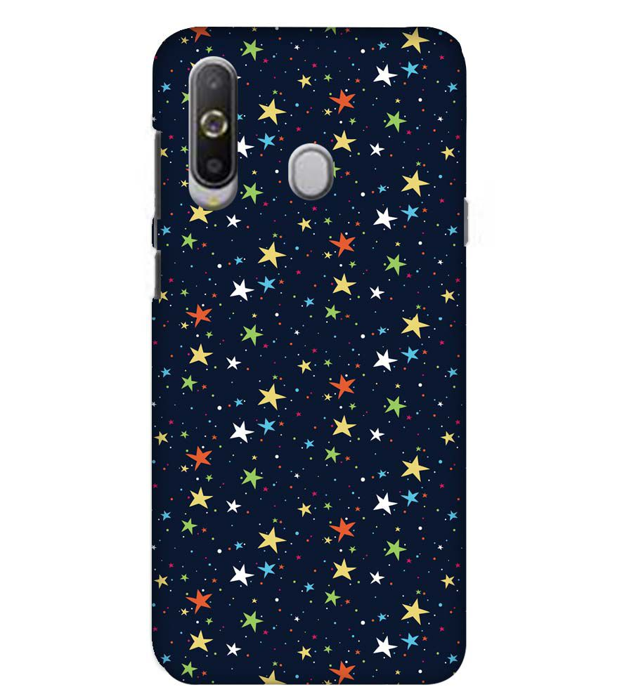 Colourful Stars Back Cover for Samsung Galaxy A8s