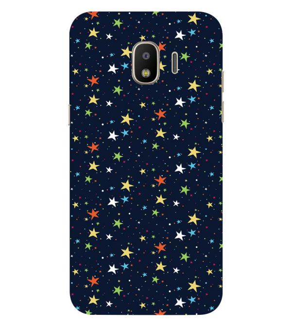 Colourful Stars Back Cover for Samsung Galaxy J2 (2018)