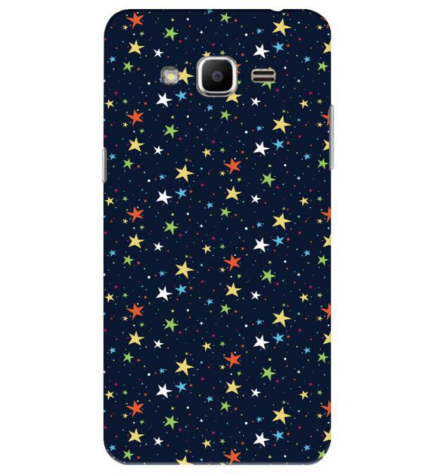 Colourful Stars Back Cover for Samsung Galaxy J2 Ace