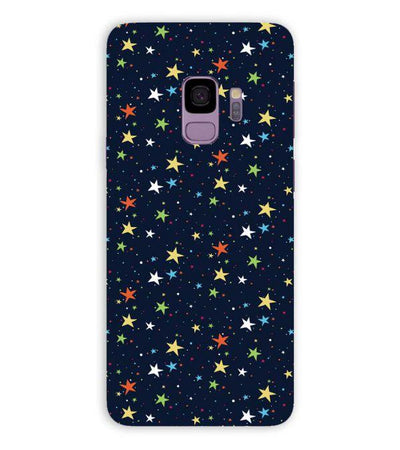 Colourful Stars Back Cover for Samsung Galaxy S9