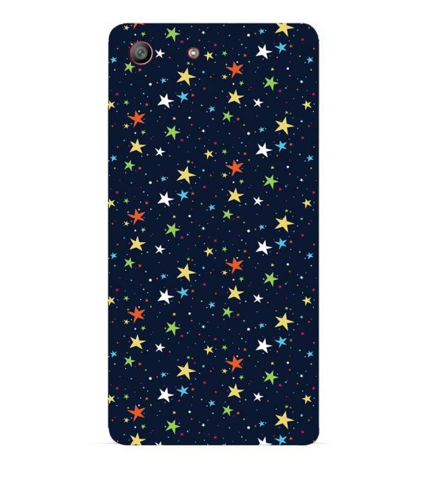 Colourful Stars Back Cover for Sony Xperia M5