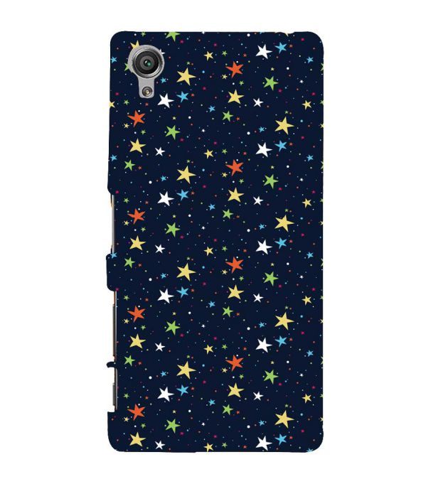 Colourful Stars Back Cover for Sony Xperia X