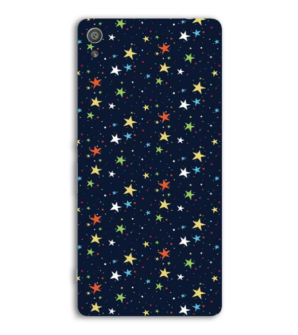 Colourful Stars Back Cover for Sony Xperia XA Ultra