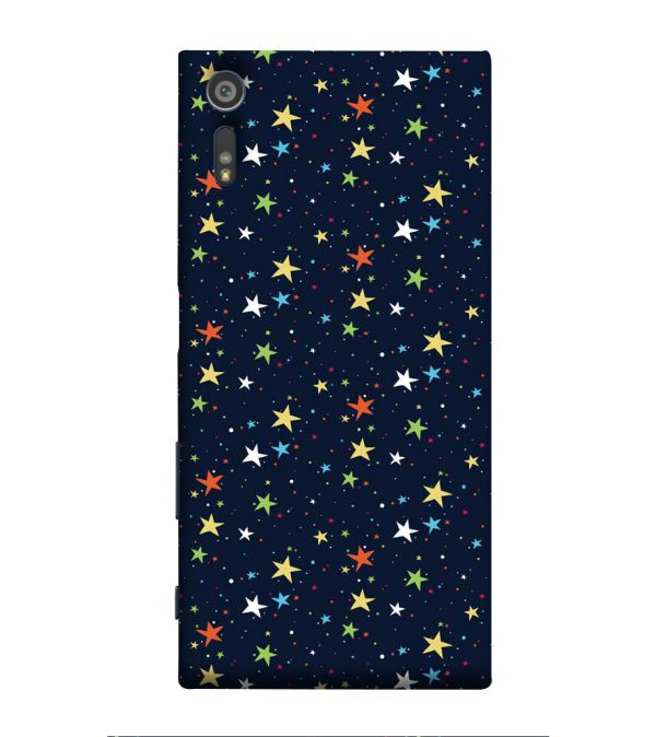 Colourful Stars Back Cover for Sony Xperia XR