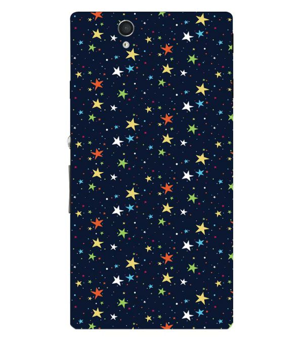Colourful Stars Back Cover for Sony Xperia Z