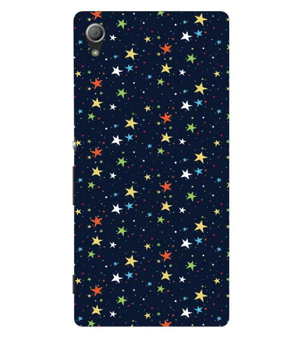 Colourful Stars Back Cover for Sony Xperia Z3+ and Xperia Z4