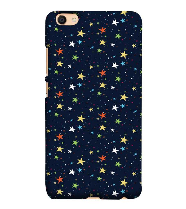 Colourful Stars Back Cover for Vivo V5 : V5s