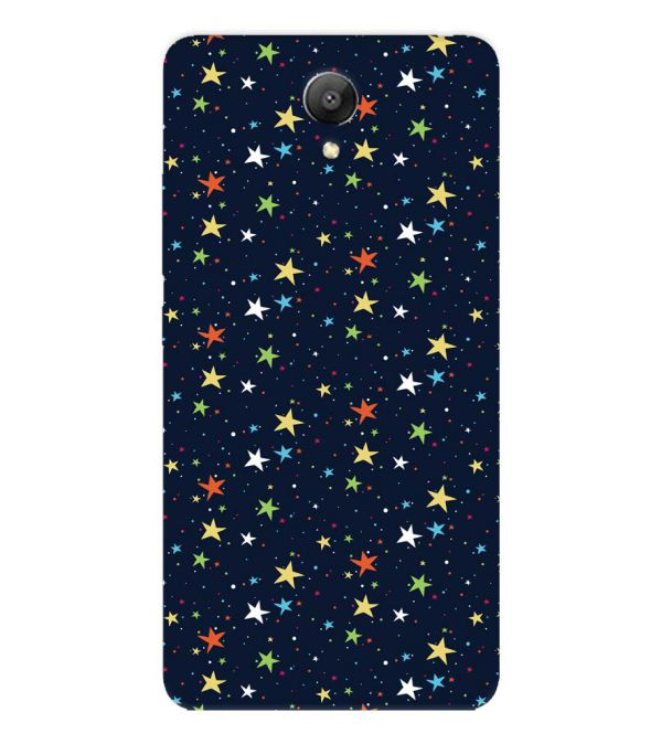 Colourful Stars Back Cover for Xiaomi Redmi Note 2