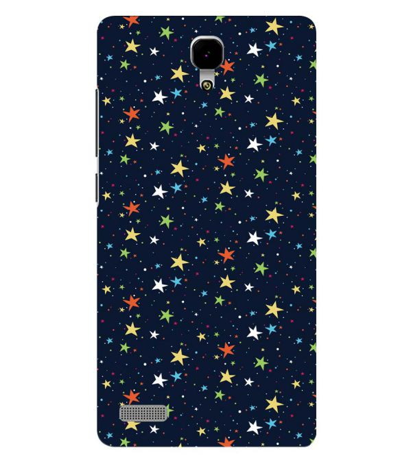 Colourful Stars Back Cover for Xiaomi Redmi Note 4G