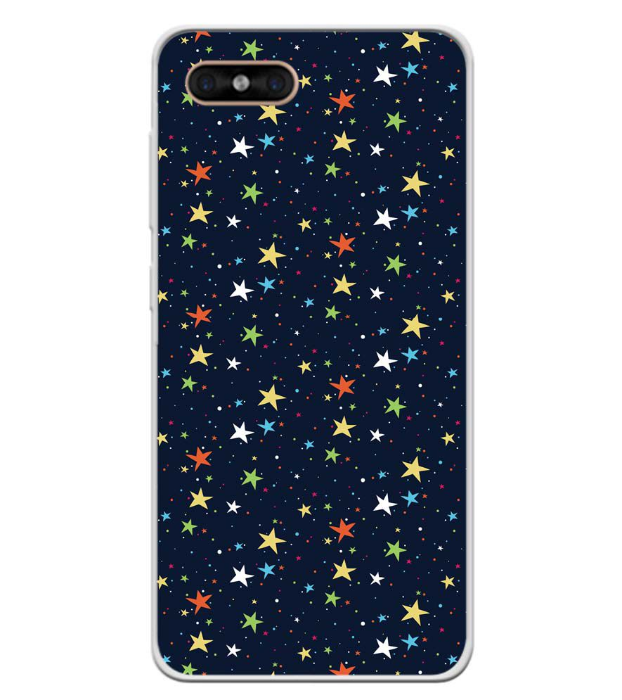 Colourful Stars Soft Silicone Back Cover for Gome C7