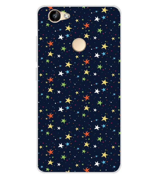 the latest f0563 2af94 Colourful Stars Soft Silicone Back Cover for Itel Wish A41 Plus