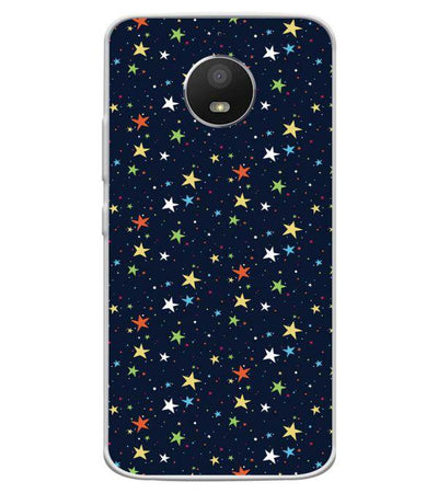 brand new 3a787 fb27d Blue Pattern Collection Back Cover for Motorola Moto E4 Plus