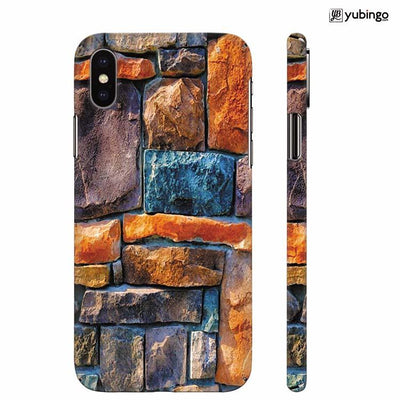 Colourful Stones Back Cover for Apple iPhone X