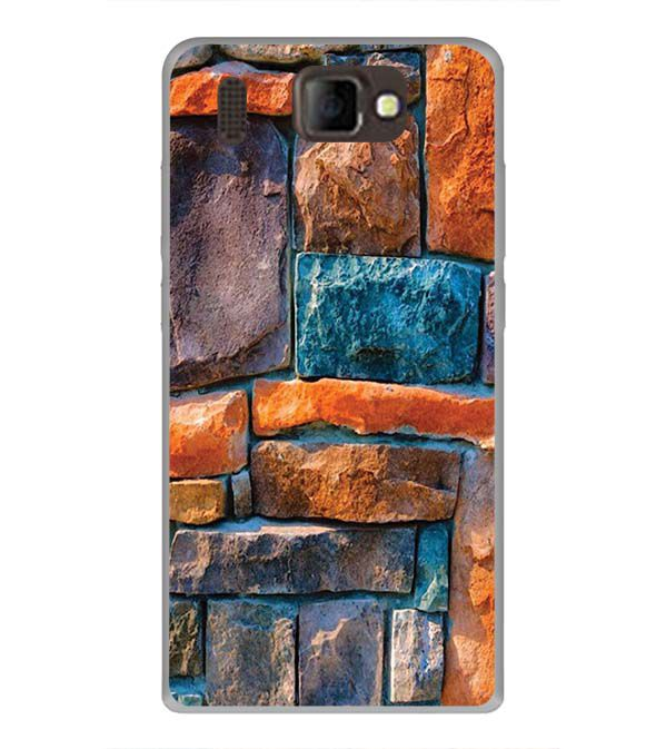 Colourful Stones Back Cover for Panasonic P66 Mega