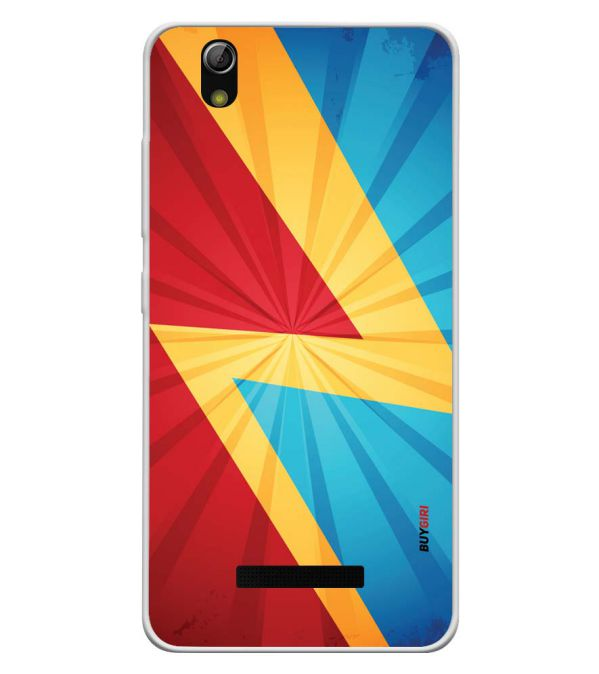 new arrival 55b49 ac591 Colours Soft Silicone Back Cover for Gionee P5L