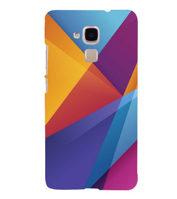 taglia 40 7a82b 3b538 Colours Pattern Back Cover for Huawei Honor 5C