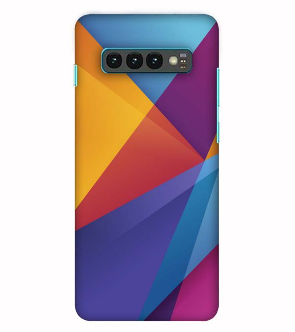 Colours Pattern Back Cover for Samsung Galaxy S10 (6.1 Inch Screen)