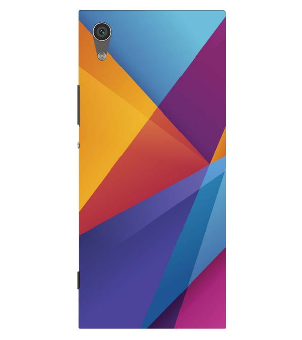 Colours Pattern Back Cover for Sony Xperia XA1 Plus