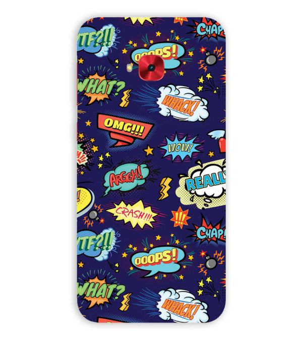 Comic Pattern Back Cover for Asus Zenfone 4 Selfie Pro ZD552KL