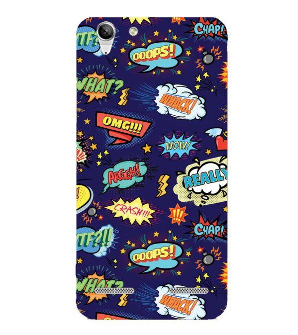 info for 44f03 c0aed Funny Pattern Collection Back Cover for Lenovo Vibe K5 Plus