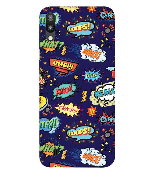 Comic Pattern Back Cover for Samsung Galaxy M10