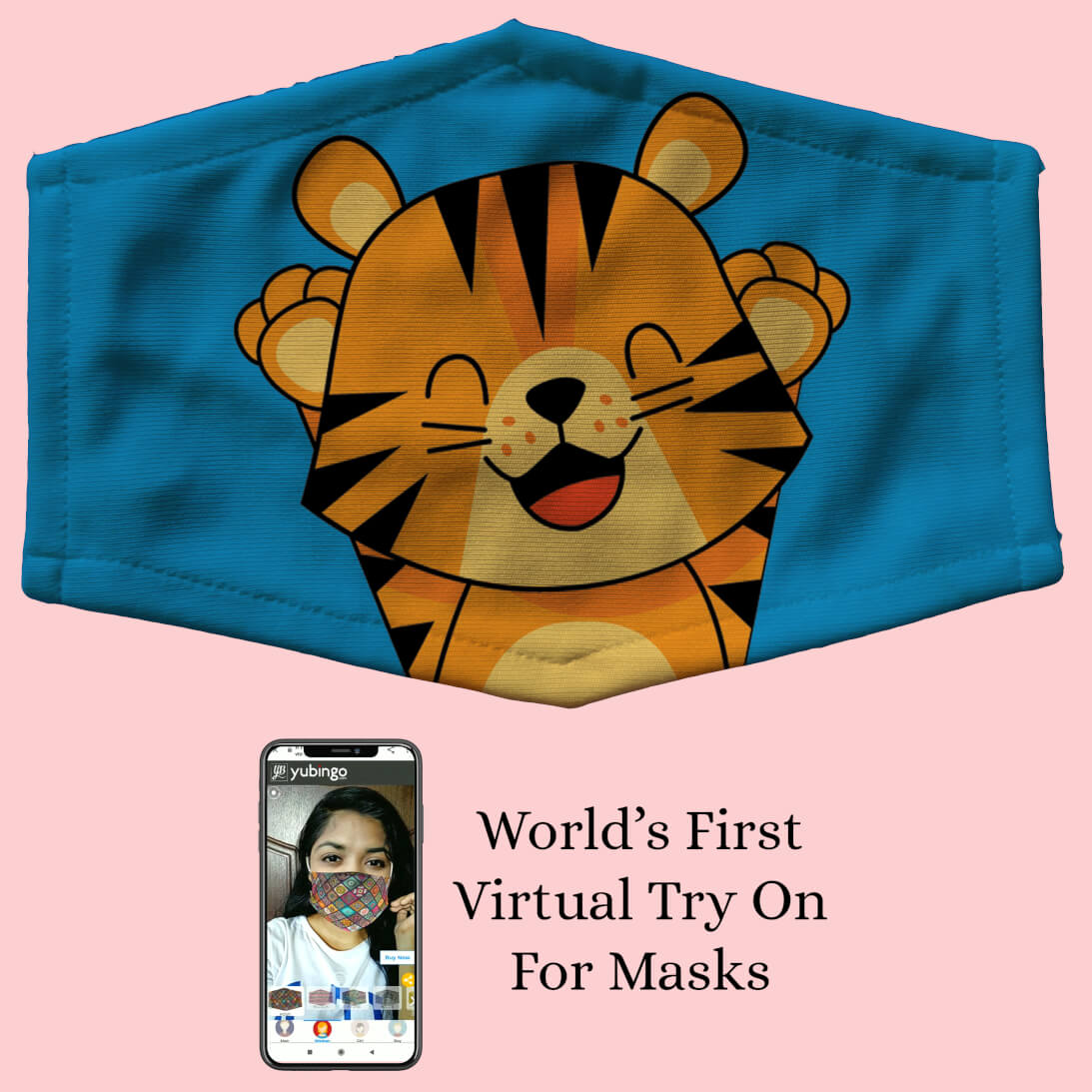 Comic Tiger Cub Mask