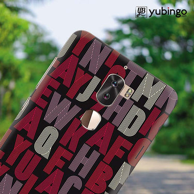 Cool Alphabets Back Cover for Coolpad Cool 1-Image4