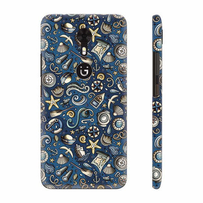 Cool Blue Back Cover for Gionee A1