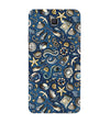 Cool Blue Back Cover for Samsung Galaxy C9 Pro