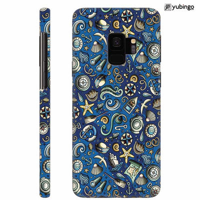 Cool Blue Back Cover for Samsung Galaxy S9