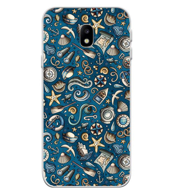 release info on 5df44 5c7c1 Cool Blue Soft Silicone Back Cover for Samsung Galaxy J3 (2017)